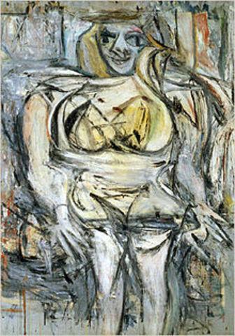 'Woman III' - Willem De Kooning