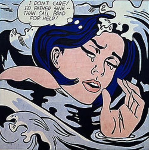 'Drowning Girl' - Roy Lichtenstein