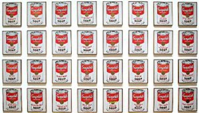 'Campbell's Soup Cans' - Andy Warhol