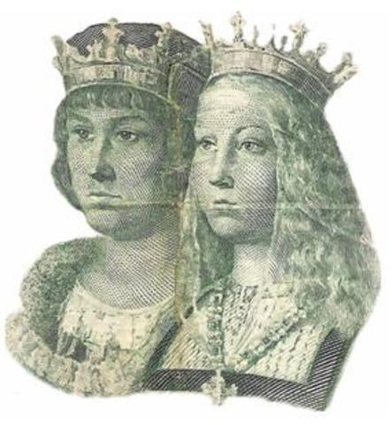 Unió d'Aragó amb Castella.