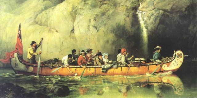 Coureurs des bois - Voyageurs at peak of fur trade