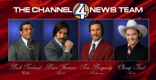 The crew of Channel 4