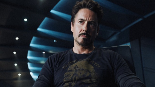 Stark hacks the SHIELD system and finds out of all SHIELD's plans.