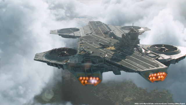 Loki's possessed agents infiltrate the Helicarrier and destroy an engine including the ship.