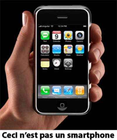In 2010 the first smartphone invented