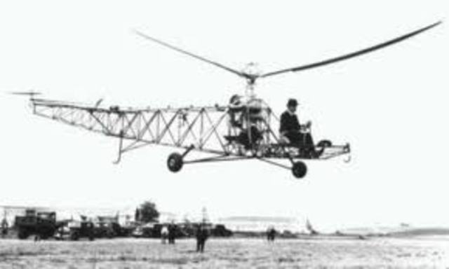 First Helcopter