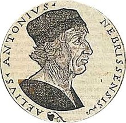 Muerte de Antonio Nebrija