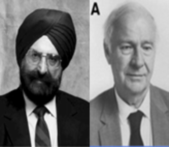 Narinder Singh Kapany  y Harold Hopkins