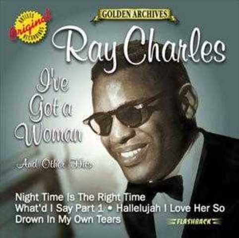 Ray Charles- I got a woman