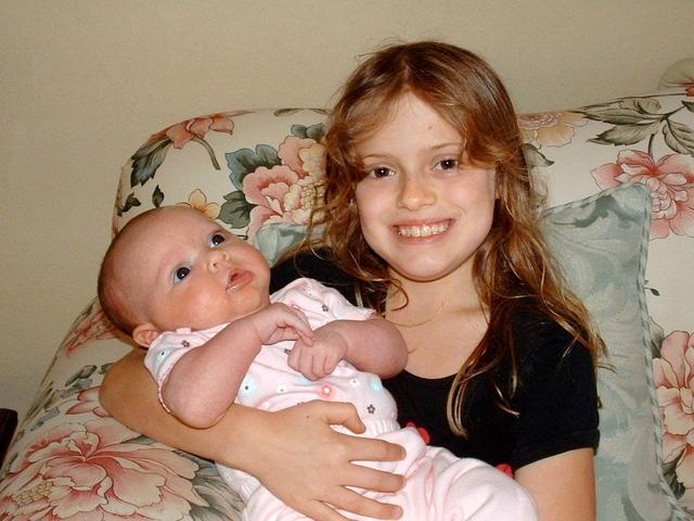 My 1st Time Meeting My Baby Sister Jordan