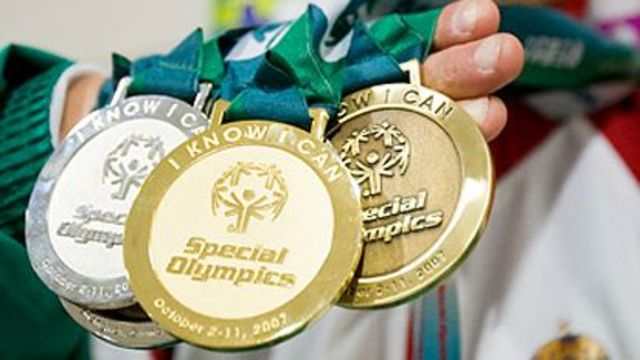 Endorsing the Special Olympics