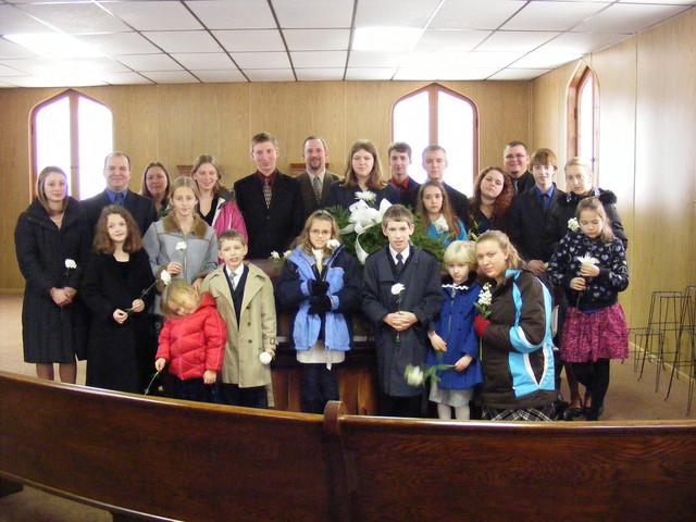 At My Grandma Strobel's Funeral