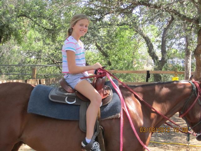 Me Riding a Horse