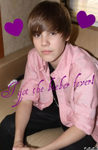 Justin joined a singing talet show when he was 12 and won 2nd place.