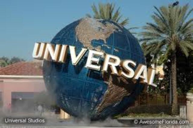 I go to La again and we go to Universal Studios.