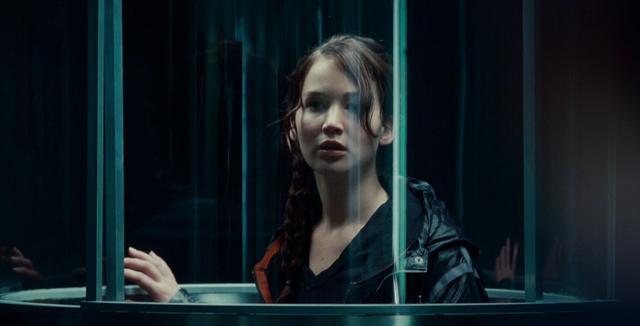 Katniss and Peeta get ready to go to the arena