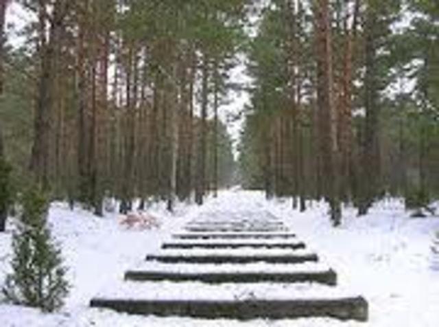 Treblinka basically shuts down