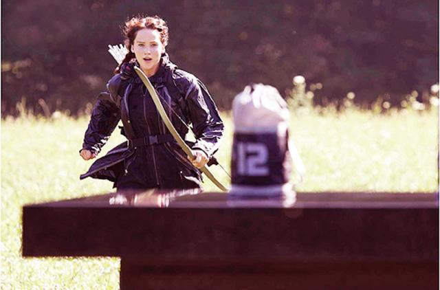 Katniss decides she has to go and get Peeta the medicine