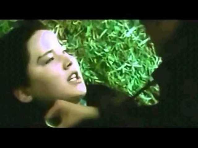 Katniss and Clove fight