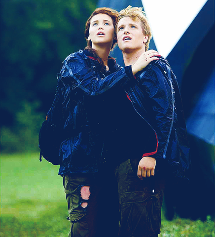 Katniss and Peeta win the 74th Annual Hunger Games