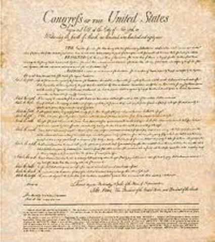 Ratification of Ninth Amendment