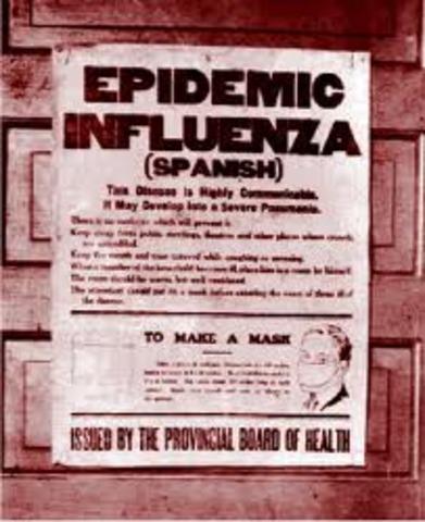Flu Epidemic of 1918