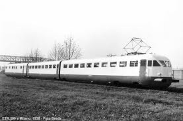The First Bullet Train