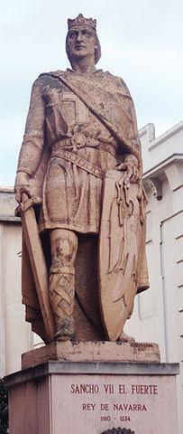 Sancho VII El Fuerte (reinado 1194-1234) Dinastía Jimena
