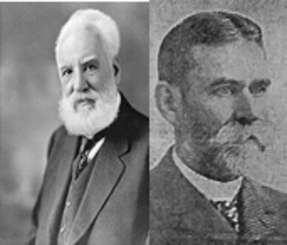 Alexander Graham Bell y Tainter Sumner