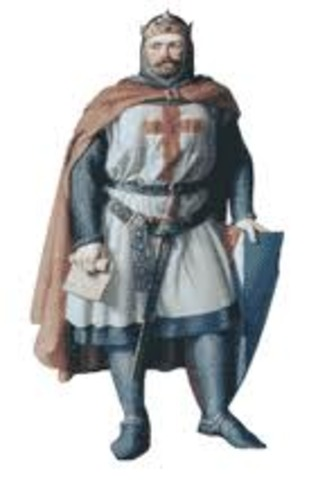 Rey Teobaldo I Dinastía Champaña  (1234-1253)