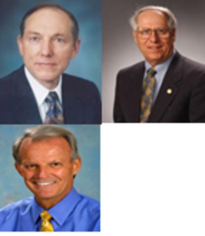 Robert D. Maurer, Donald Keck, Peter C. Schultz y Frank Zimar