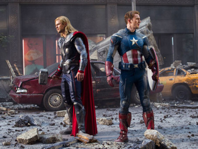 The Avengers soon all find each other and rally up in New York to defend it.