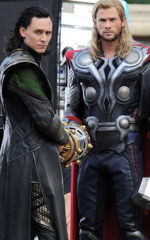 Thor and Loki return to Asgard and Nick notes the Avengers will be needed in the future.