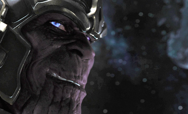 In the end, Thanos is revelaed with another plan on Earth.