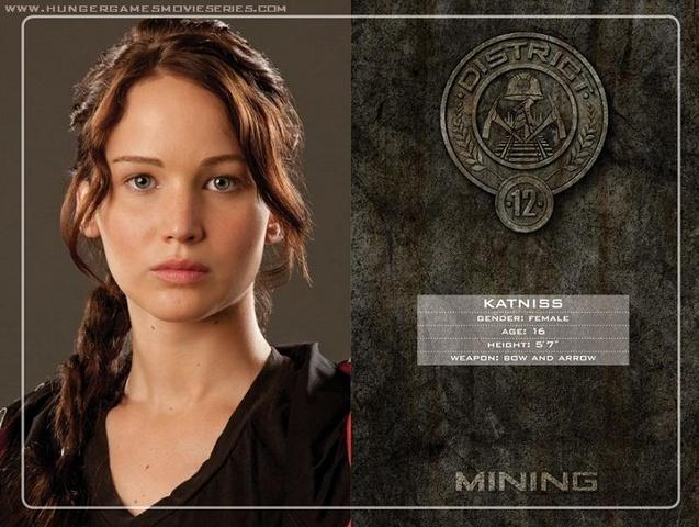 Man vs. Man, Katniss vs. Tributes