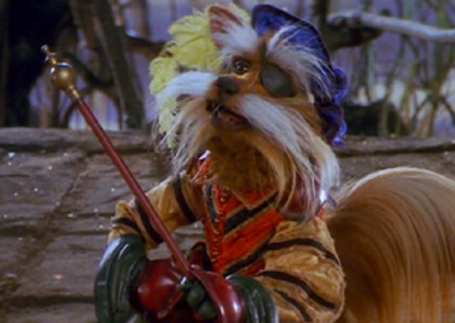 The party encounters Sir Didymus