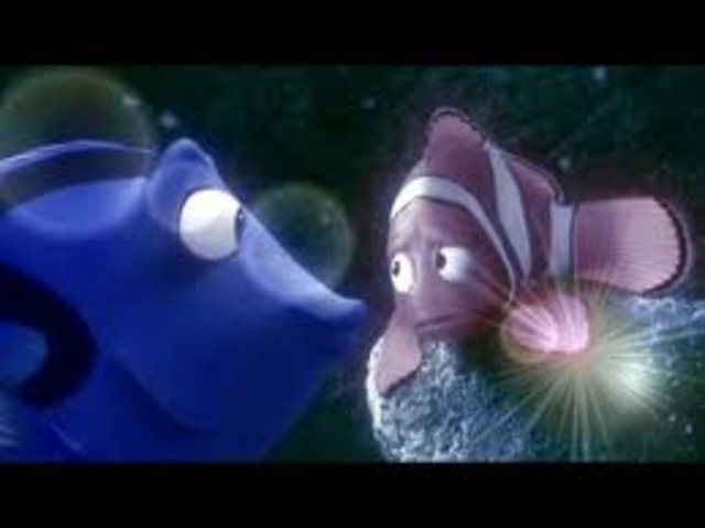 Marlin laves Dory, and Marlin starts to go home.