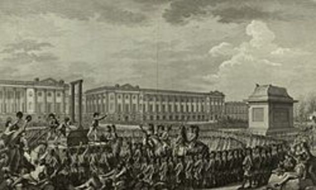 Execution of  XVI