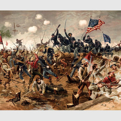 Road to (and through) the civil war timeline