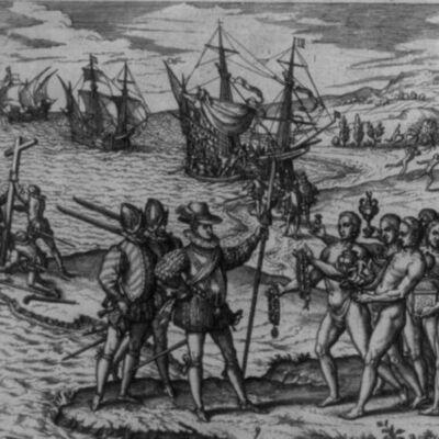 Els temps moderns. Els descobriments geogràfics (segles XV i XVI) timeline
