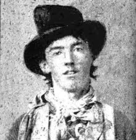 Billy the Kid (McCarty) shot