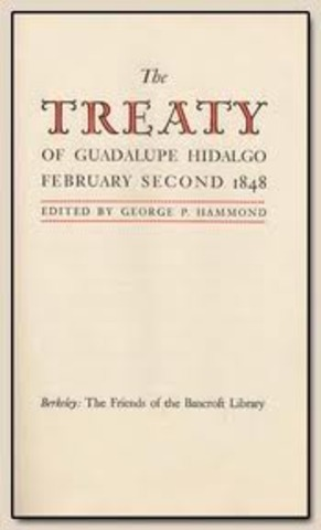 Treaty of Guadalupe-Hidago