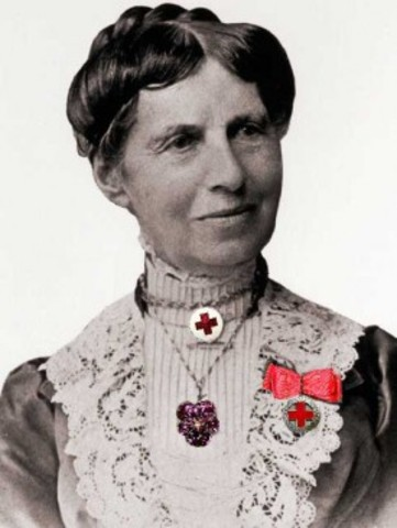 Clara Barton founded the American Red Cross.