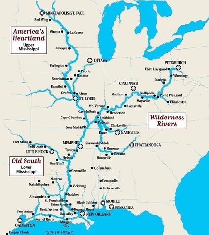 Spain Closes Mississippi River