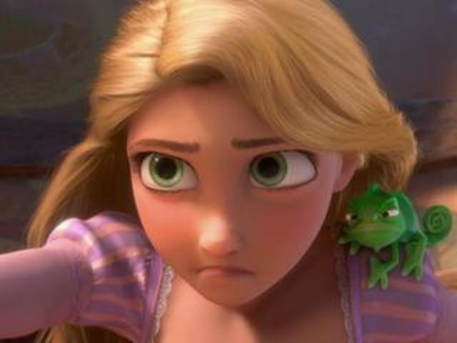 Rapunzel's birthday is tomorrow.