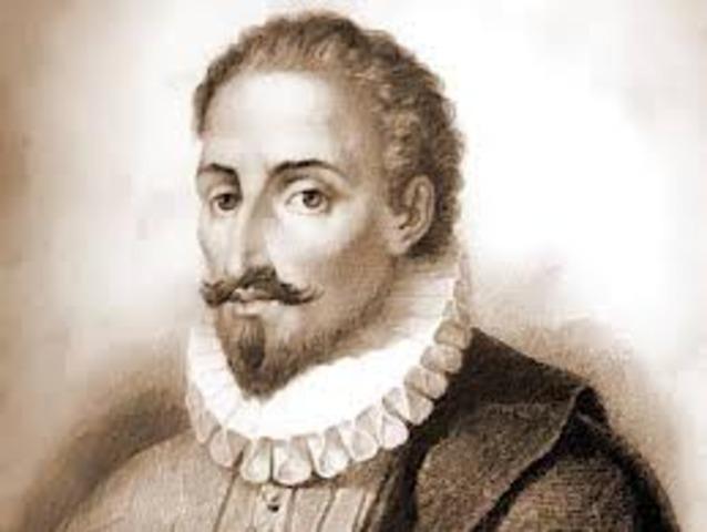 Privilegio real a Miguel de Cervantes Saavedra