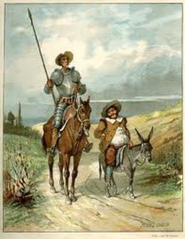 Impresión del Quijote de la Mancha
