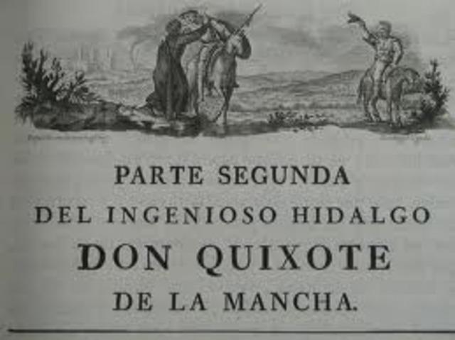 Segunda parte de Don Quijote