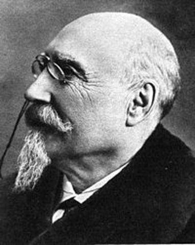 José de Echegaray recibe el Premio Nobel de Literatura