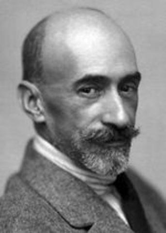 Jacinto Benavente recibe el Premio Nobel de Literatura